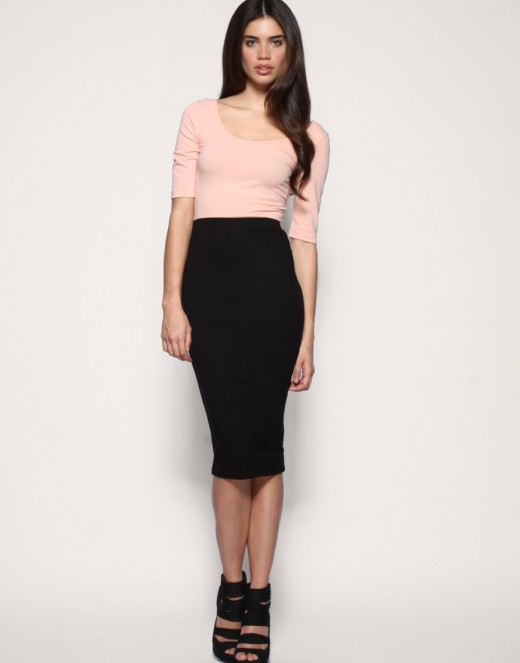 Pencil or Tube Skirts