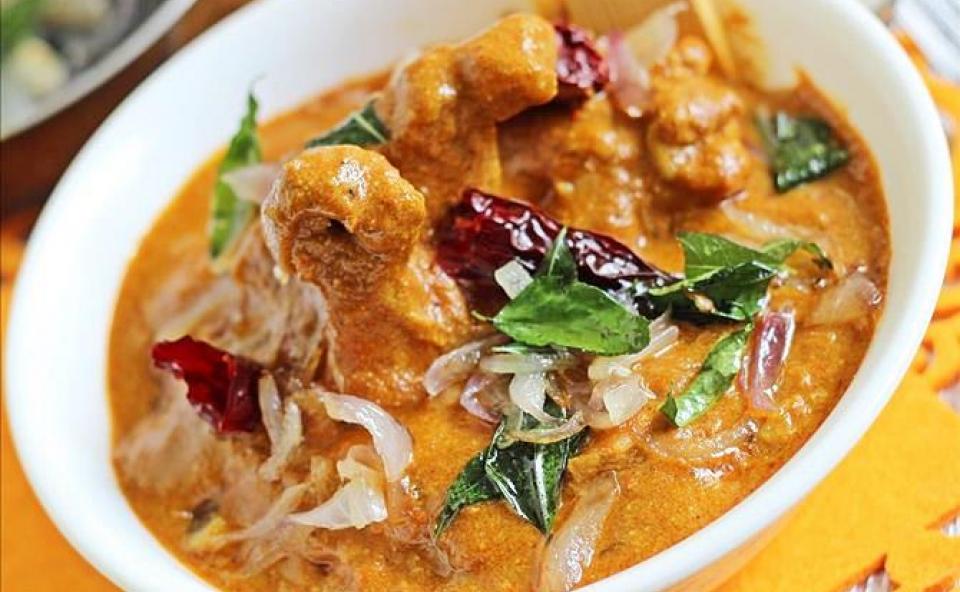 Kerala Nadan Chicken Curry