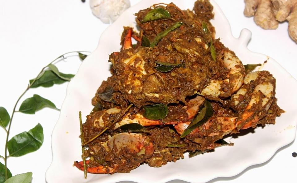 Spicy Crab Roast