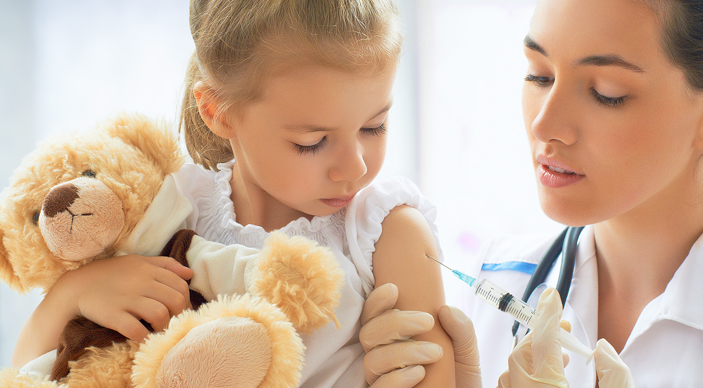 Vaccinations For Children, Age 0–10 Years