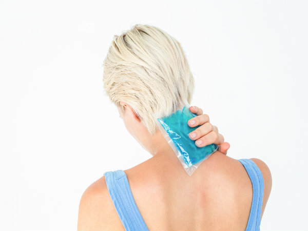Putting An Ice Cube On Your Neck Can Reduce Many Health Problems