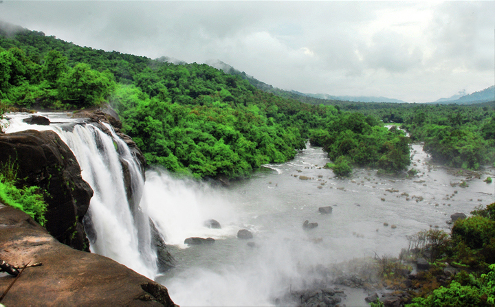 Athirapally Falls of Kerala Athirapally Thrissur