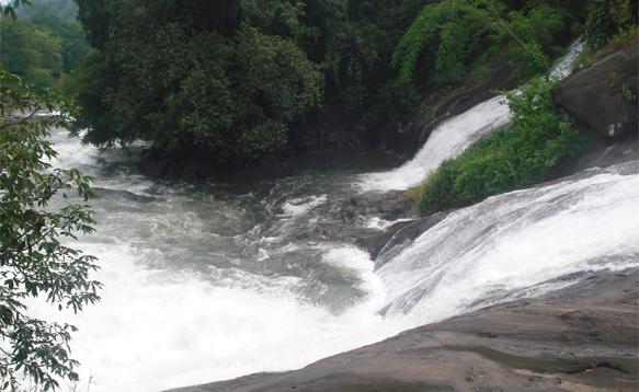 Adyanpara Waterfalls Kurumbalangode, Nilambur Taluk Malappuram