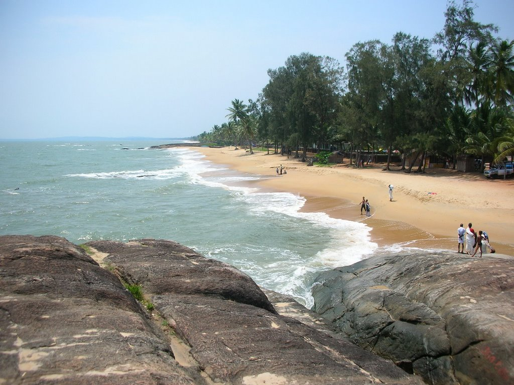 Chootad Beach Near to Ezhimala hills Kannur