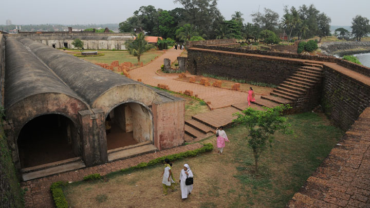 St. Angelo Fort Located 3 km from Kannur Kannur