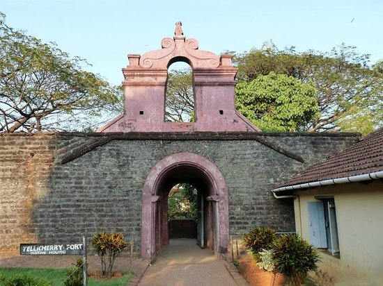 Tellicherry fort Thalassery Kannur