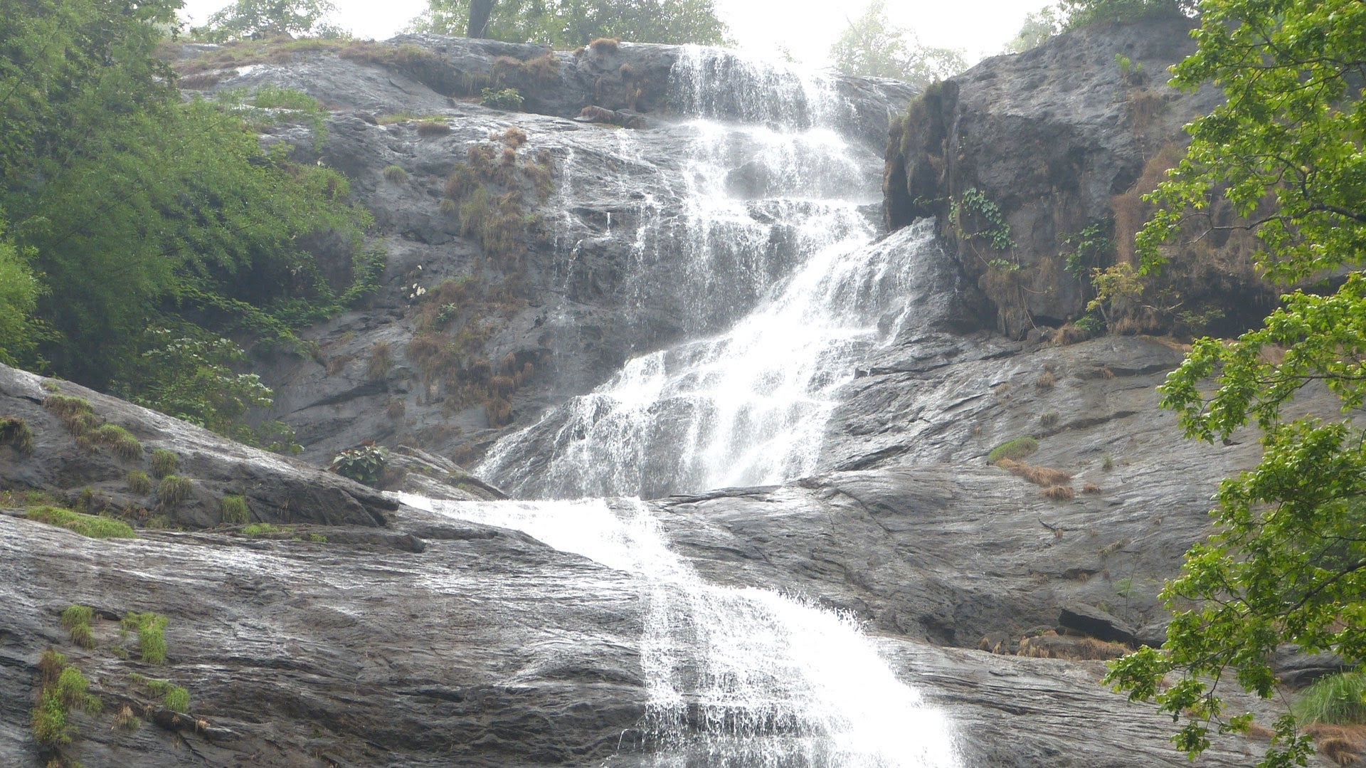 Cheeyappara and Valara waterfalls, Idukki Neriamangalam and Adimali around 10 km on the Kochi - Madurai Highway Idukki