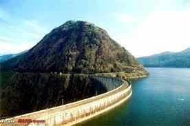 Idukki dam Near Cheruthoni and Kulamavu Idukki