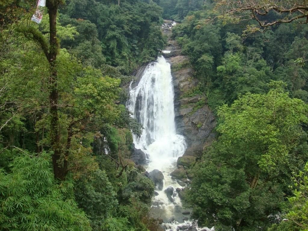 Valara Waterfalls 14 km from Adimali Idukki