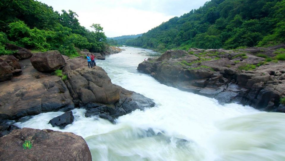 Perunthenaruvi Waterfalls 36  km from Pathanamthitta Pathanamthitta