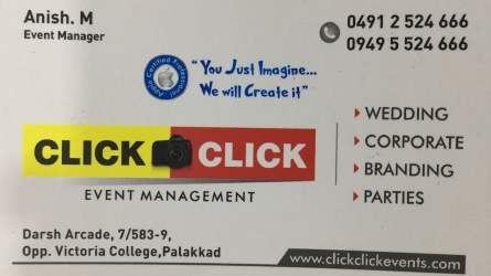 Click Click Event Management in Palakkad