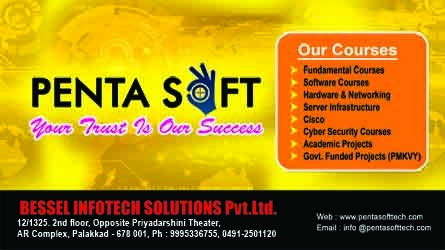 Penta Soft - Training Centre in Palakkad