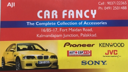 Car Fancy - The complete collection of Accessories - Automobile Spare Parts in Palakkad Town Kerala