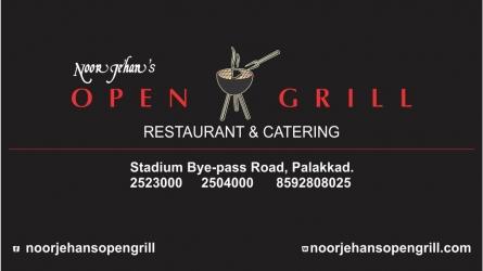 Noorjehan's Open Grill Multi Cuisine Restaurant Palakkad - Best Restaurant in Palakkad Kerala