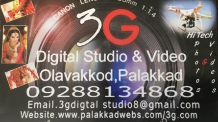 3G Digital Studio and Video - Studios in Olavakkode Palakkad Kerala