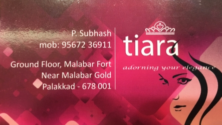 Tiara - Fancy and Gold Covering Jewellery in Palakkad Municipality