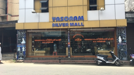 Yasoram Silver Mall - Largest Silver Showroom in Palakkad Town Kerala