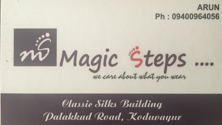 Magic Steps - Footwears and Bags Shop in Koduvayur Palakkad