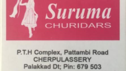 Suruma Churidars - Exclusive Churidar Showroom in Cherpulassery Palakkad