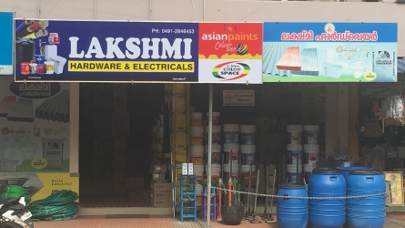 Lakshmi Hardware and Electricals - Best Hardwares, Paints, Sanitaries, Plumbing and Electrical Shop in Kongad Palakkad Kerala