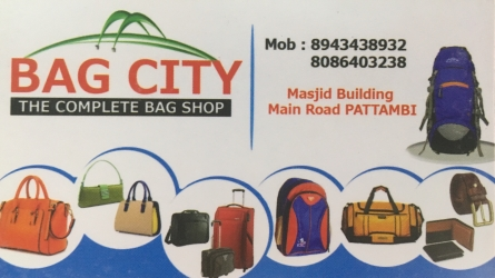Bag City - Best Bag Shop in Pattambi Palakkad Kerala