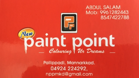 Paint Point - Best Wholesale and Retail Exclusive Paint Shop in Mannarkkad Palakkad Kerala