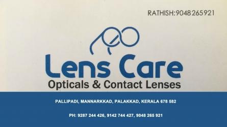 Lens Care - Best Opticals and Contact Lenses Shop in Mannarkkad Palakkad Kerala