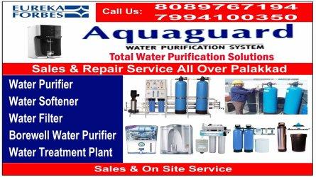 AQUA Water Softener - Best AQUAGUARD Sales and Service in Palakkad Kerala India