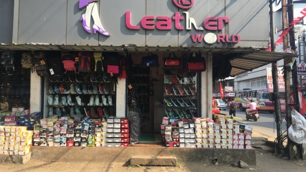 Leather World - Best Ladies and Gents Footwear and Bags Shop in Perinthalmanna Malapuram Kerala India