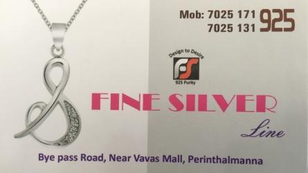 Fine Silver Line Jewellery - Best Silver Jewellery Shop in Perinthalmanna Malappuram Kerala India