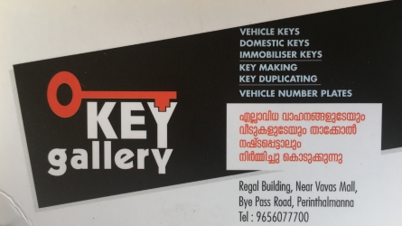 Key Gallery - Best Home and Vehicle Keys Shop in Perinthalmanna Malappuram Kerala India