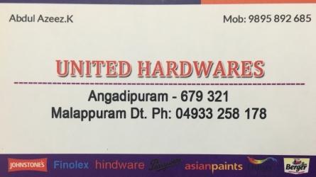 United Hardwares - Best Hardware Shop in Angadippuram Malappuram Kerala India