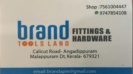 Brand Tools Land  - Best Tools, Fittings and Hardwares Shop in Angadippuram Malappuram Kerala India
