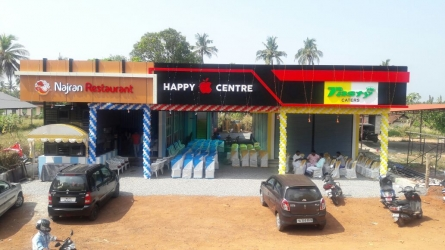 Happy Centre - Best Rooms Available for Shops and Offices Near Kanjirapuzha Dam Palakkad Kerala India