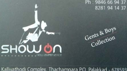 Showon Gents & Boys Collection Thachampara