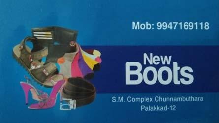 New Boots Footwears Palakkad